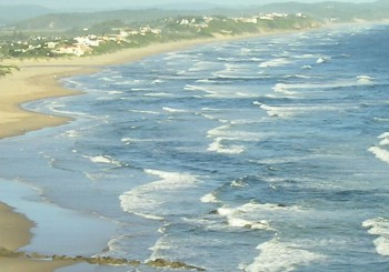 Ozean und Strand